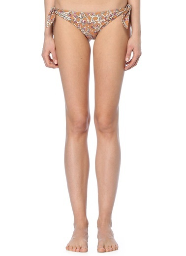 Etoile Isabel Marant Desenli İpli Bikini Altı Renkli